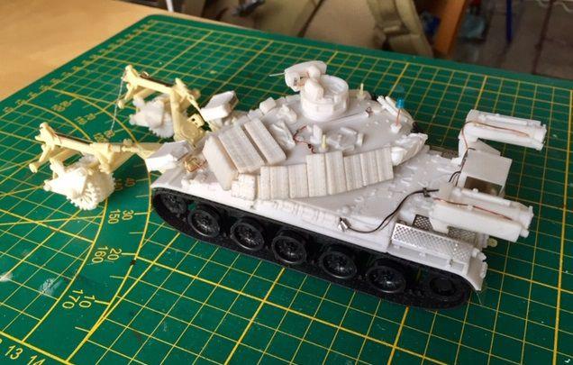La famille AMX 30 au 1/48 chez Master Fighter - MAJ 21/08/19