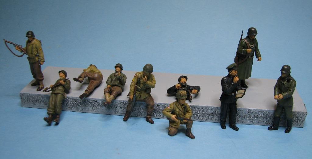 Figurines 39/45 au 1/48 (par Robert B.)