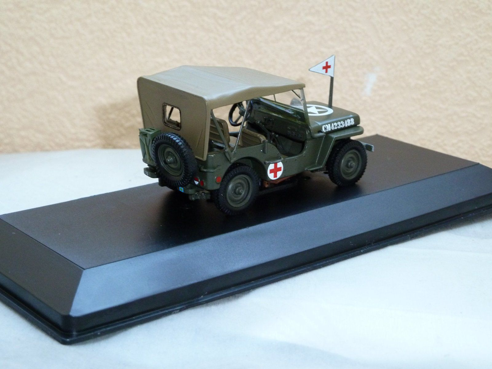 Jeep Willys MB, 3rd Canadian Inf Div  Normandie - Juin 1944  (Altaya - 1/43)