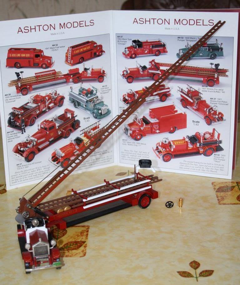 Grande échelle Ahrens-Fox  des pompiers de Buffalo (1927)