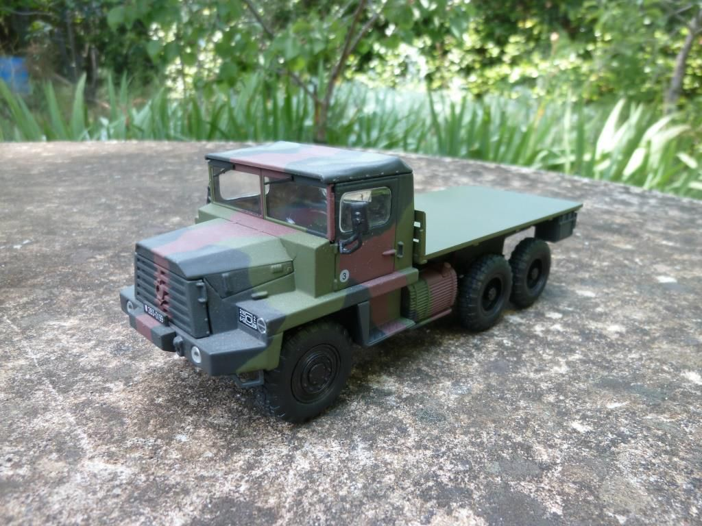 Berliet GBC 8 KT shelter atelier  (1/43 - base Direkt-Collections - par Hervé C.)