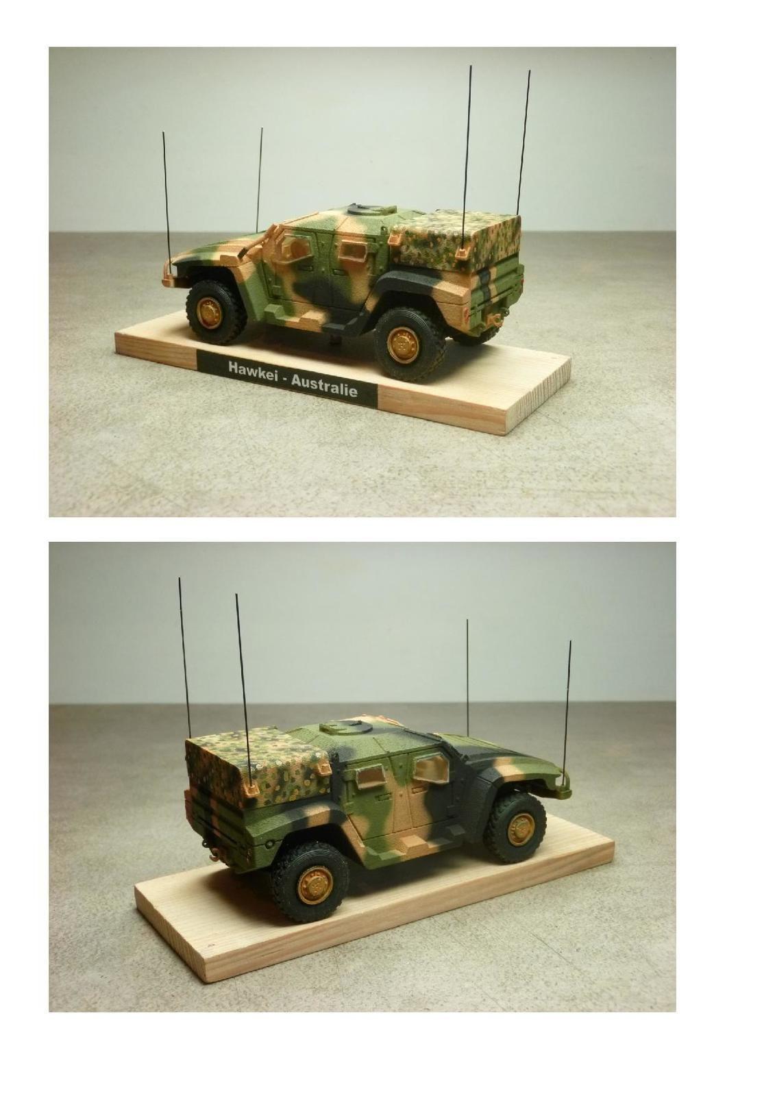 Impression 3D : Thales Hawkei PV 4x4 (par Jean-Charles)