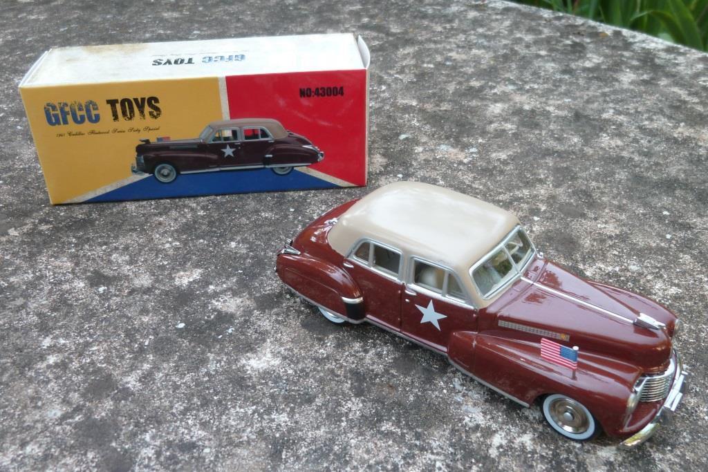 Cadillac Fleetwood 1941  (1/43 - GFCC Toys - par Hervé C.)