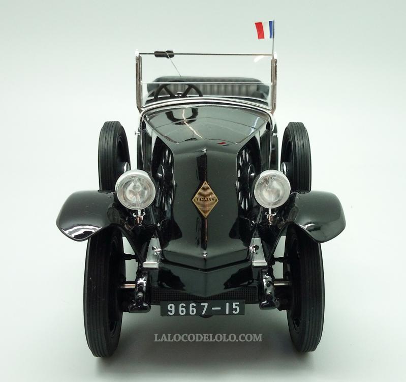 Renault 40 CV Torpédo présidentielle au 1/18 (Panthéon)