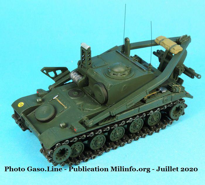 AMX-13 VCG et dépannage au 1/48 (Gaso.Line)