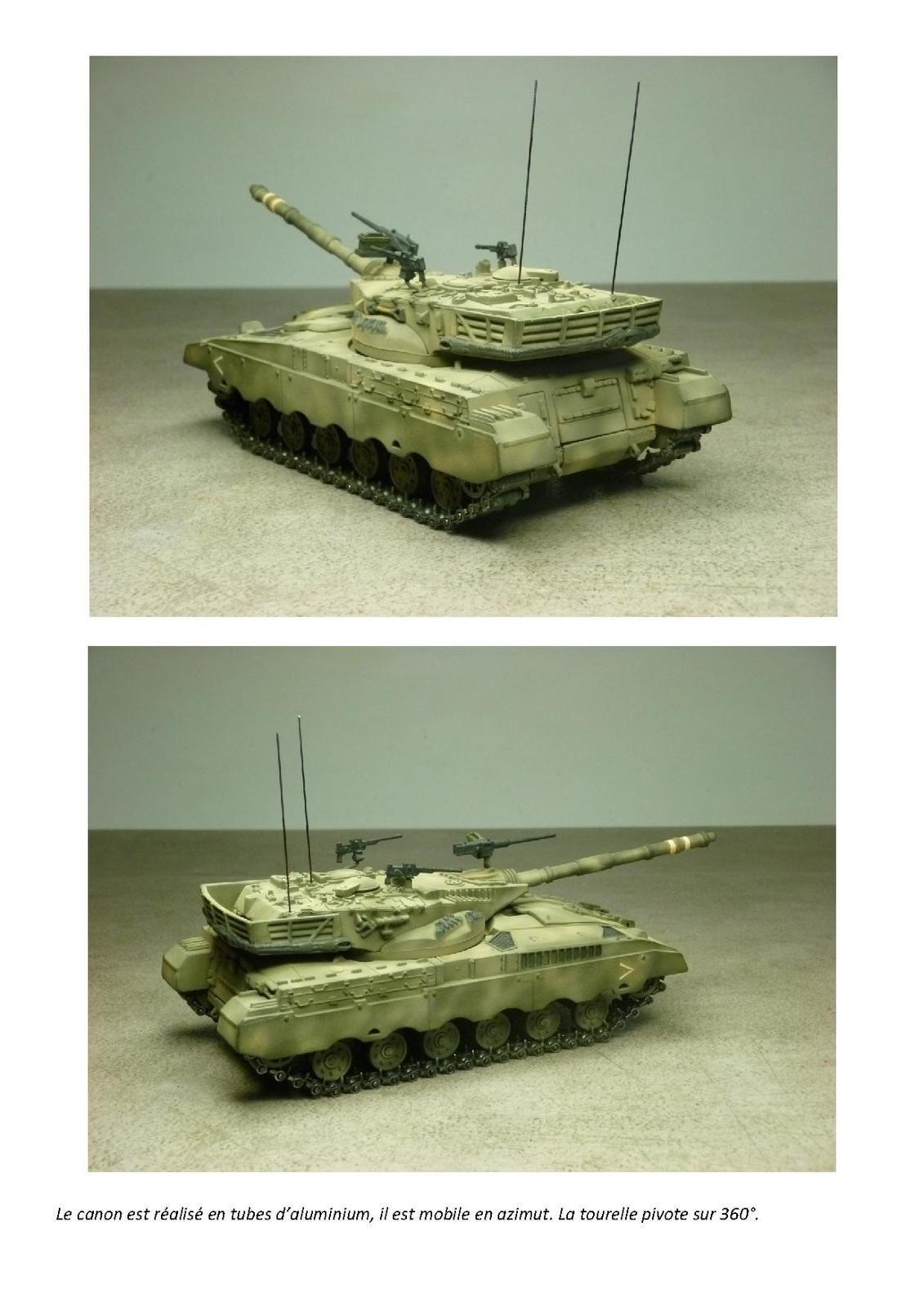 Impression 3D : char Merkava MK1 au 1/50 (par Jean-Charles)