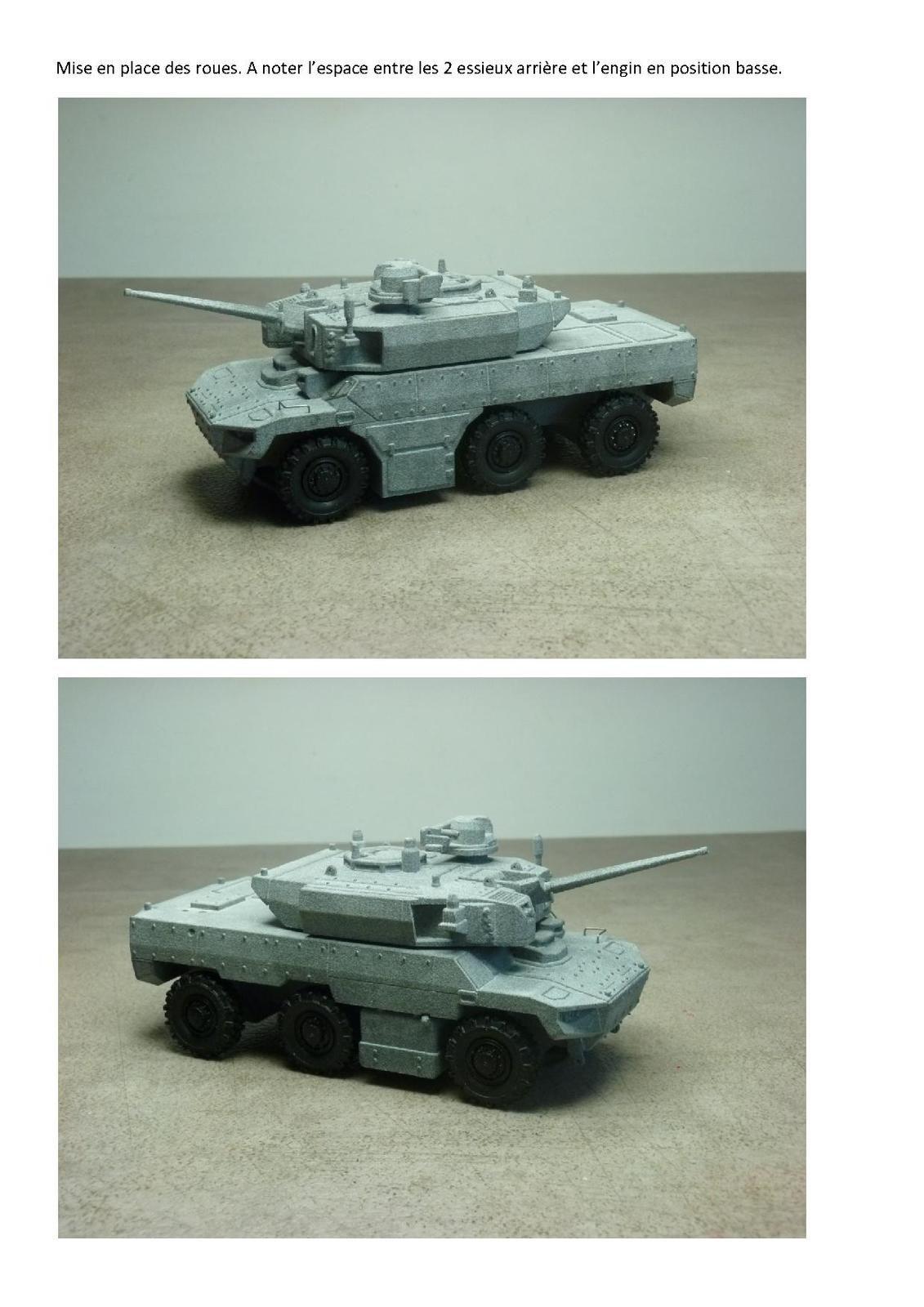Impression 3D : EBRC Jaguar au 1:50 (par Jean-Charles)