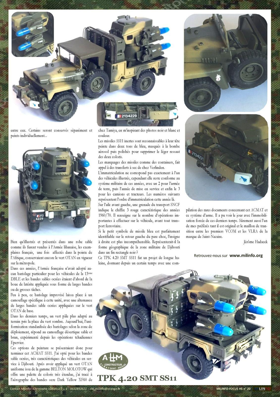 Milinfo-Focus Hors-série n° 20 : ACMAT VLRA TPK 4.20 SMT SS11