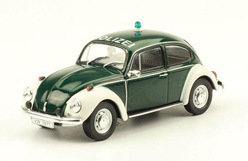 Volkswagen Hebmüller Typ 18A et coccinelle Polizei (1/43 - DeAgostini)