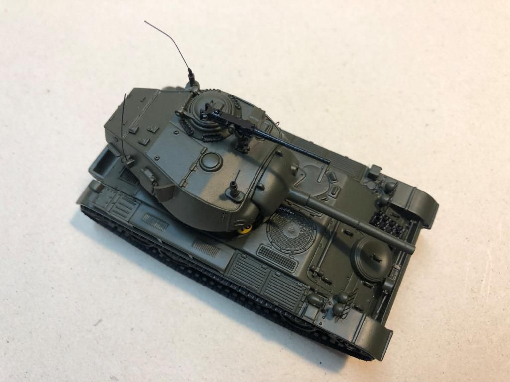 AMX-13 Chaffee (base Master Fighter - 1/48 - par Alain Pierre)