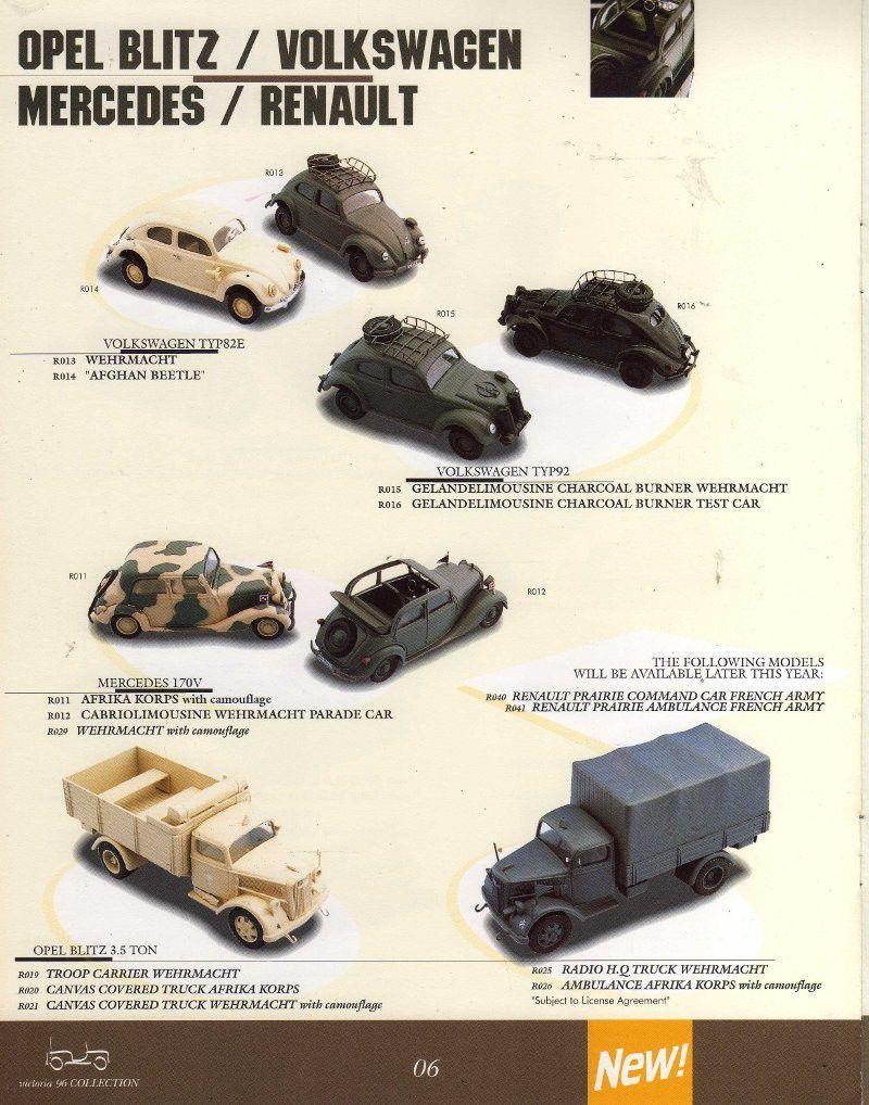 Victoria, des véhicules militaires au 1/43 (par Thomas Seignon)