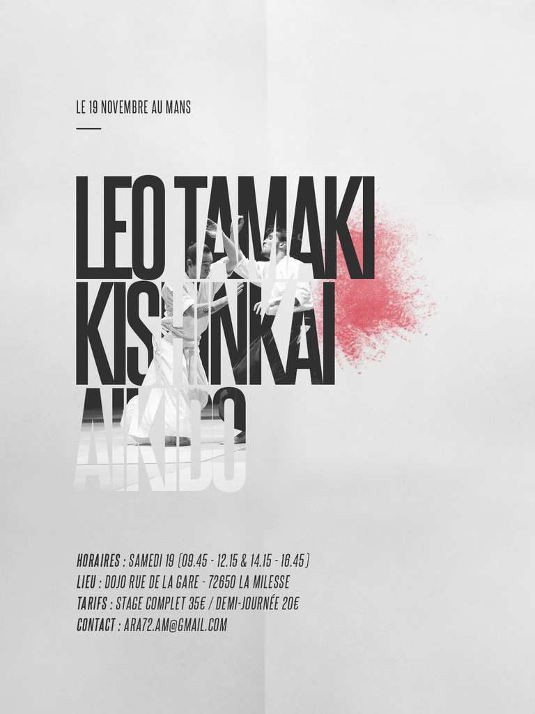 Léo Tamaki au Mans, 19 novembre