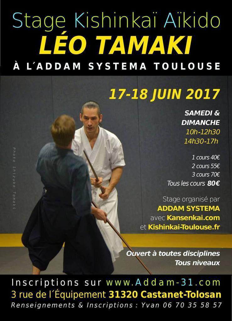 Léo Tamaki à Toulouse, 17 et 18 juin