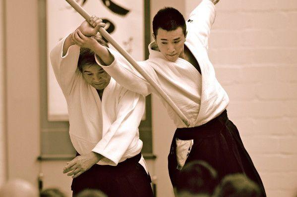 Shimizu Kenji et son fils Kenta