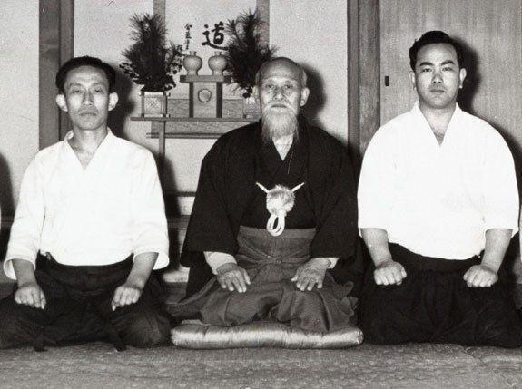 Ueshiba Kisshomaru, Osenseï Ueshiba Moriheï, Toheï Koichi