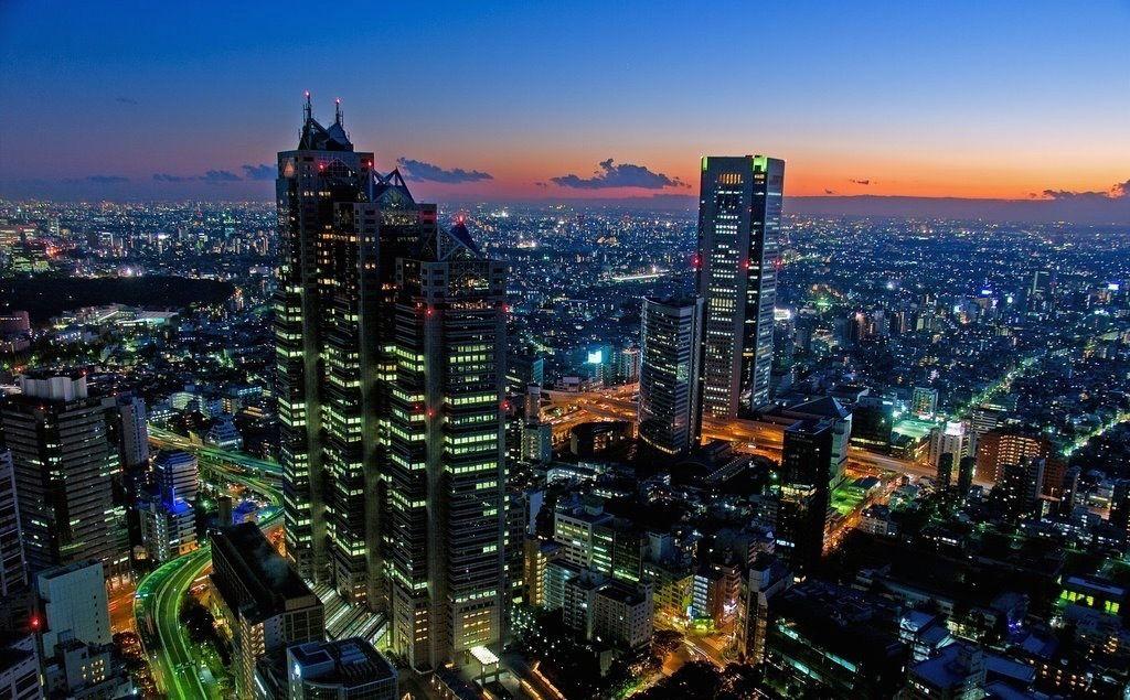 ... et moderne, Shinjuku