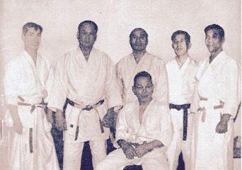 Noro Masamichi (Aïkido), Michigami Haku (Judo, Karaté), Abbe Kesnhiro (Judo, Aïkido, Kendo), Harada Mitsusuke (Karaté), Nakazono Mutsuro (Aïkido), Otani Masutaro (Judo)