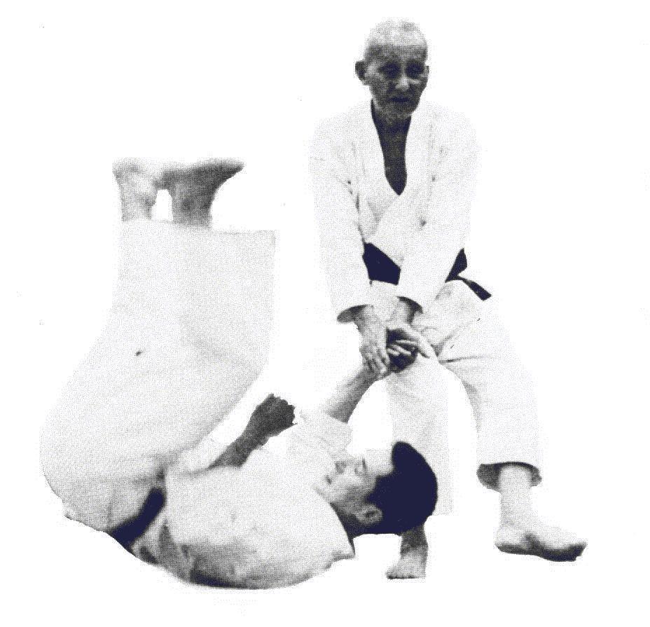 Haut Otsuka Hironori - Wado ryu Karaté; bas Tomiki Kenji - Aïkido