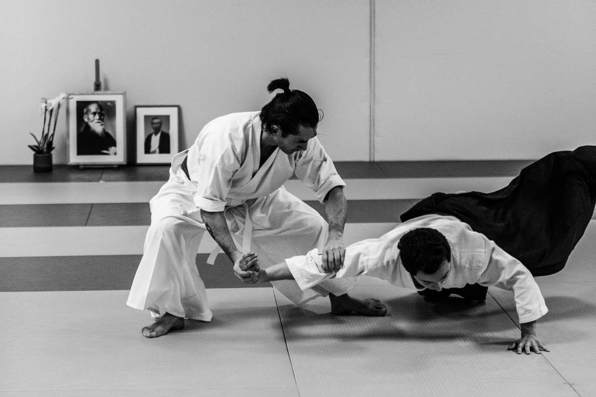 Leo Tamaki Aikido self défense budo art martial