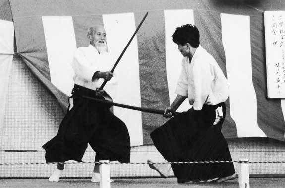 Ueshiba Morihei Tamura Nobuyoshi Aikido Aikiken