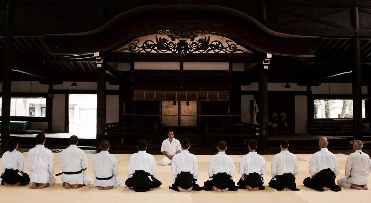 Leo Tamaki Aikido Kishinkai Kyoto Butokuden Masters Tour