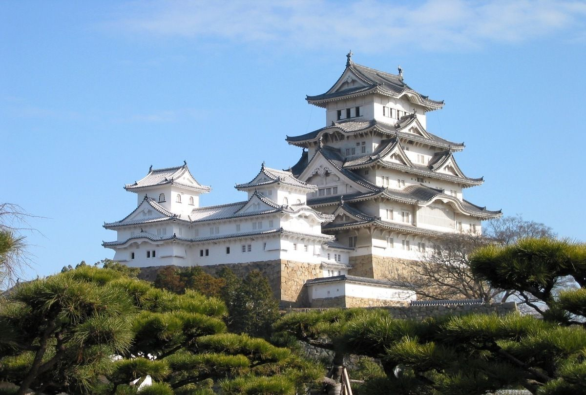 Découvrir le Japon ancien, château de Himeji...