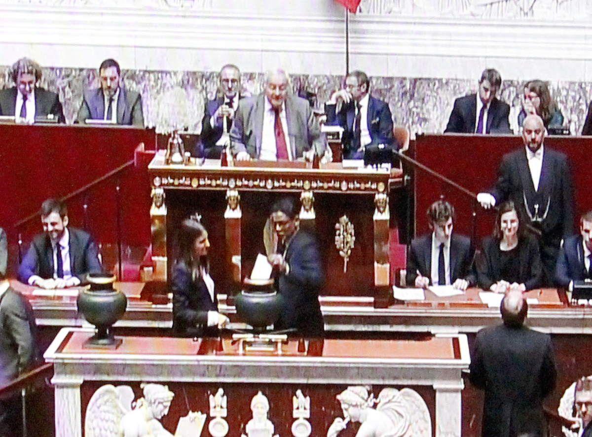Jean-Philippe Nilor a voté par la candidate de la France insoumise, Mme Fiat