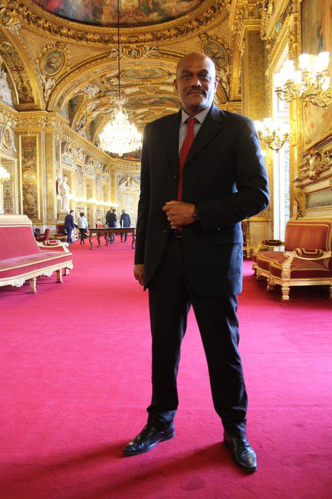 Dominique Théophile au Sénat