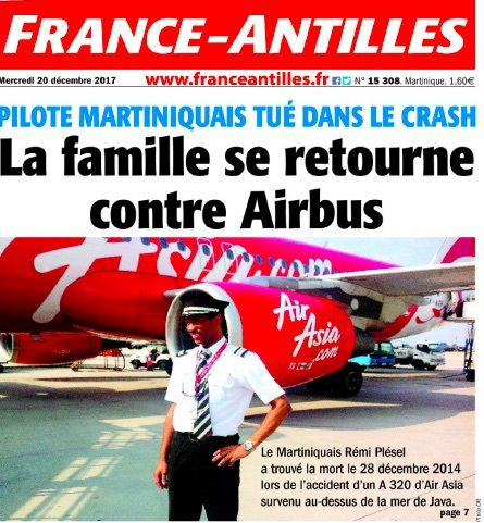 Airbus mis en cause dans le crash d'Air Asia