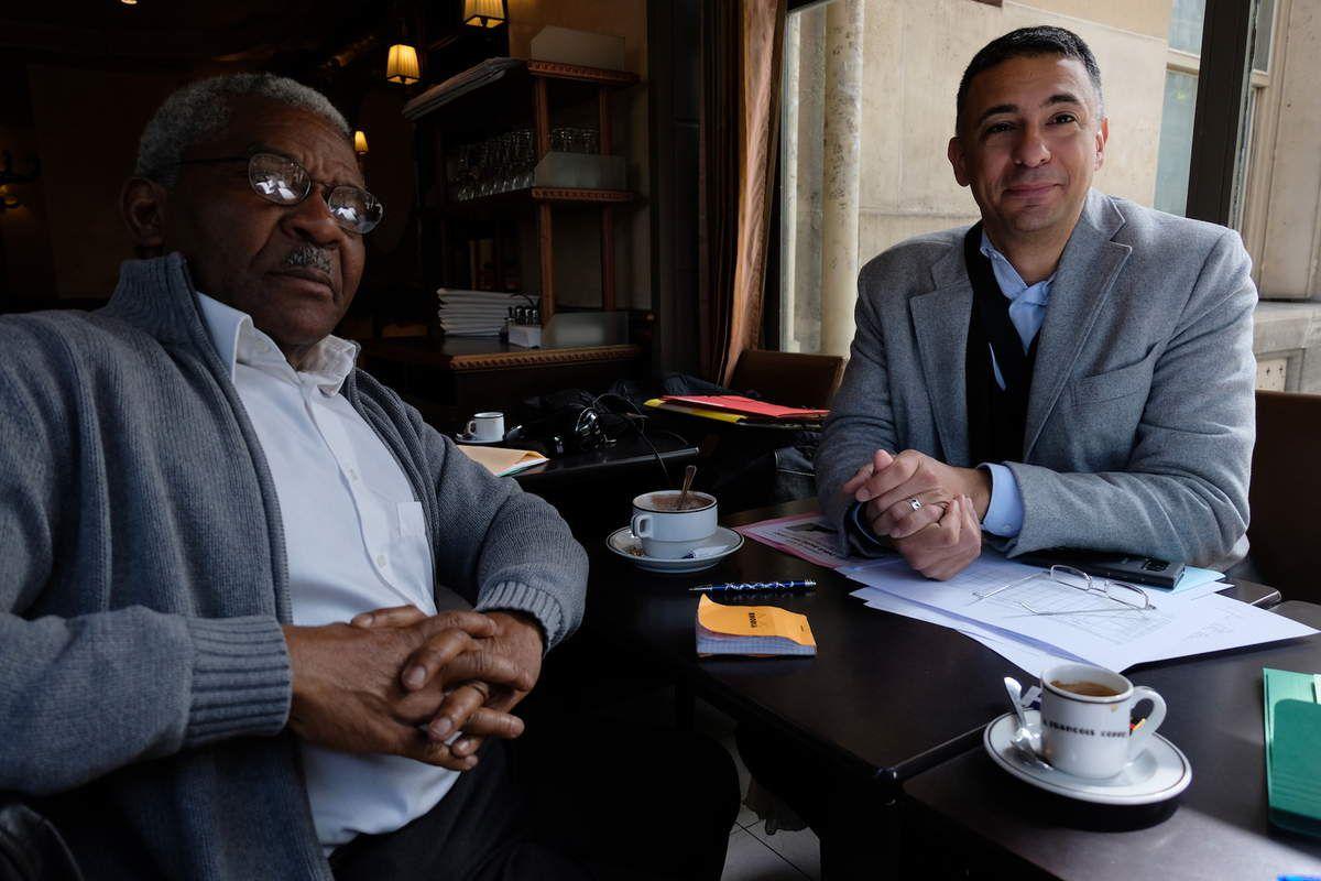 Pierre Pastel, président, et David Auerbach-Chiffrin, porte-parole du CEGOM (photo FXG)