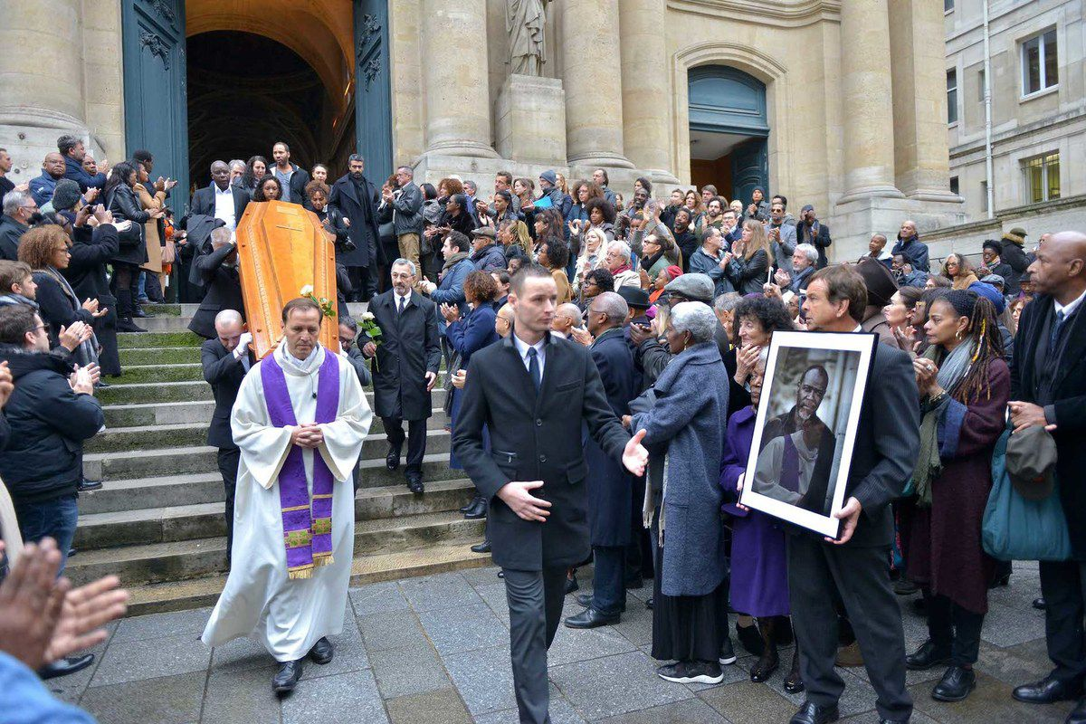 Obsèques de Jean-Michel Martial