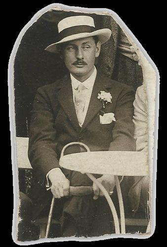 Jacques d'Adelswärd Fersen - tirage argentique ancien - collection particulière