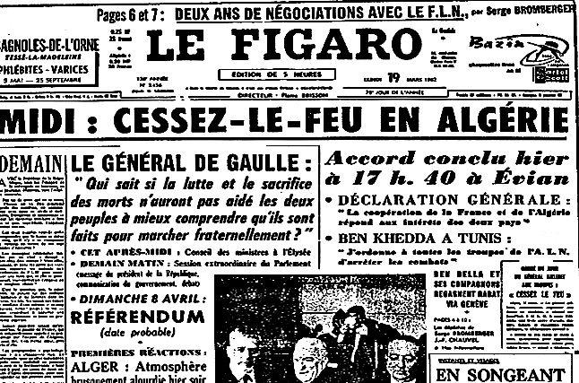 19 mars 1962 cessez le feu en alg 233 rie aujourd hui l 233 ph 233 m 233 ride d archim 232 de