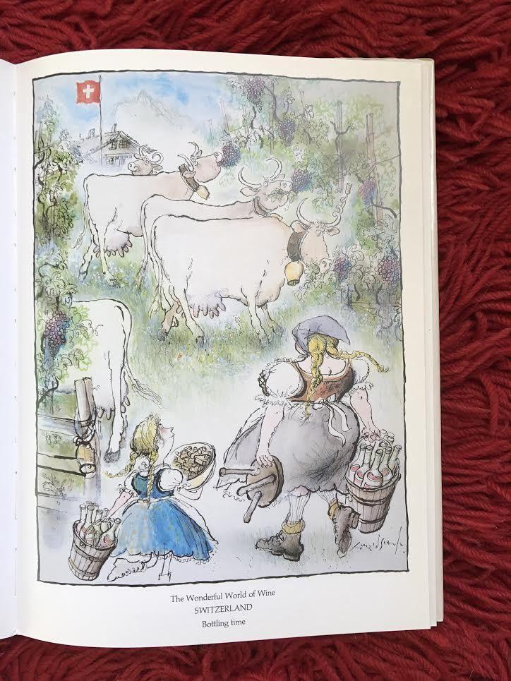 La Suisse pays du chasselas : j'ai consulté en vain les oracles François du vin pour qu'ils éclairassent ma lanterne sur la différence entre le fendant et le perlan !