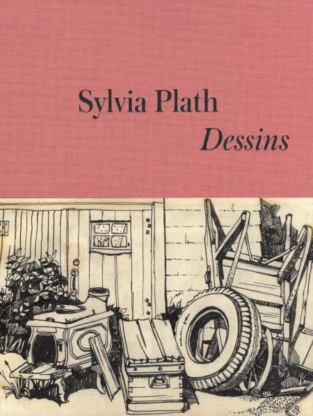 « Je vois l'Infini dans un grain de sable. » Sylvia Plath qui dessine avec bonheur une bouteille de beaujolais.