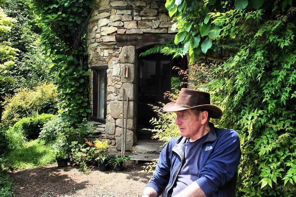 Visite privée de la maison verte de Gilles Clément