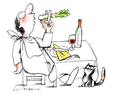 La gastronomie est le révélateur des pulsions d'un peuple Jean-Claude Ribaut nous livre sa vision du petit théâtre politicien français, à la façon des Lettres persanes
