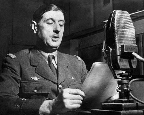 Lettre ouverte aux hommes politiques, dit les politichiens par de Gaulle.