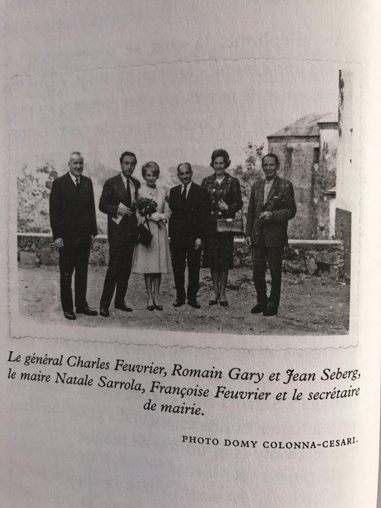 À propos du Mariage en douce de Romain et de Jean « J'ai été plus discret qu'une urne puisque j'ai tenu 5 jours ! » Natale Sarrola maire de Sarrola-Carcopino.