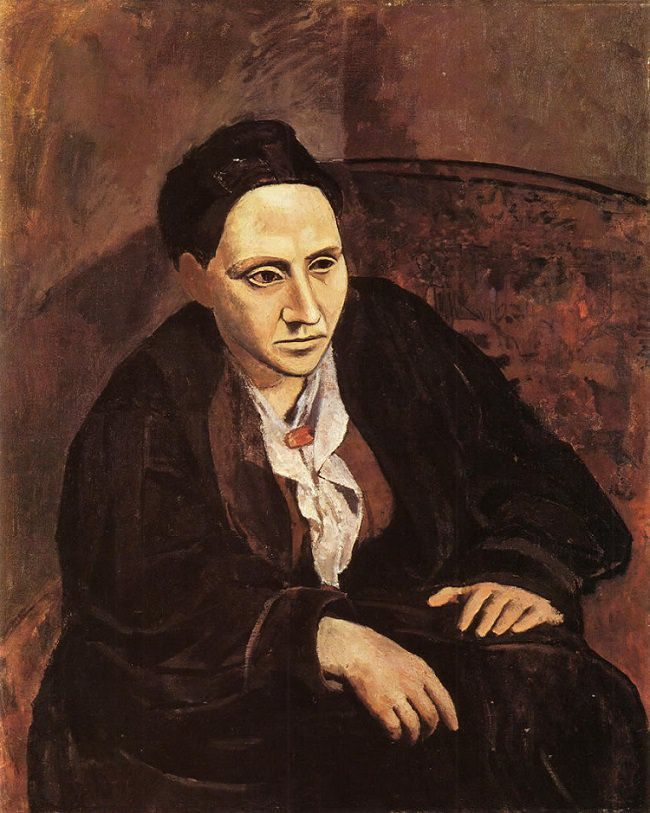 Portrait of Gertrude Stein, 1905 by Picasso