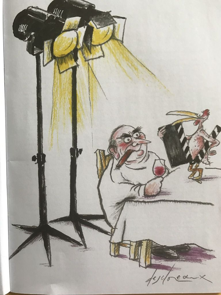 « Le poulet au vinaigre » de Claude Chabrol, 1 film, la recette d'Alain Chapel, souvenirs croisés de Jean-Claude Ribaut et de votre serviteur. « Silence on bouffe ! »