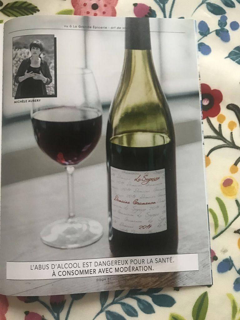 Bernard Arnault nouveau caviste en vin nature « Un bon vin est un vin vivant » affiche son enseigne