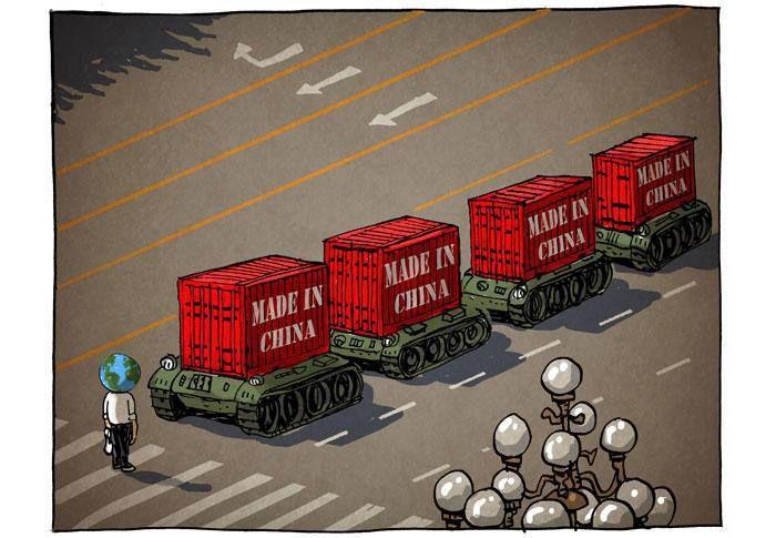 Un jour, la Chine s'effondrera… la diplomatie d'influence par le chèque…