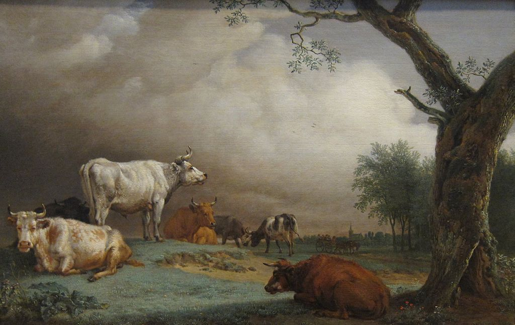 Cattle in a Meadow (1652)