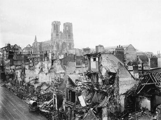 Arras et Reims, 1914-1918
