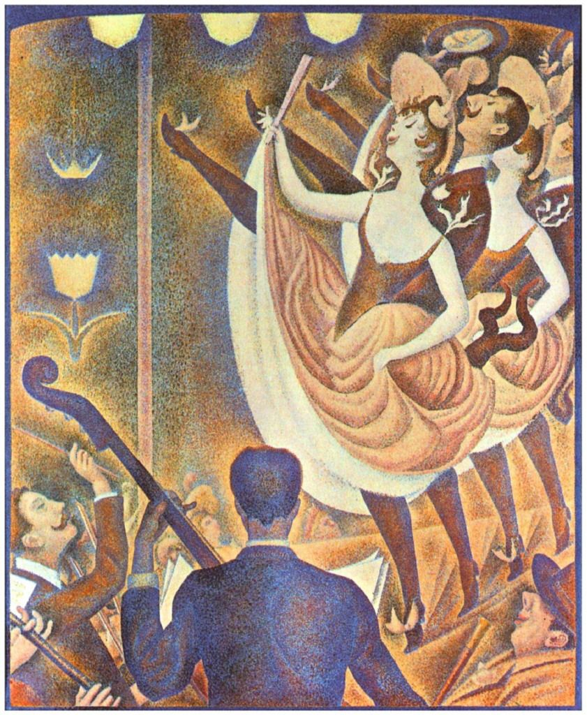 Georges Seurat Musiciens