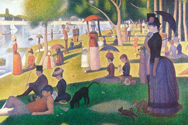 Georges Seurat Un après-midi à la Grande Jatte