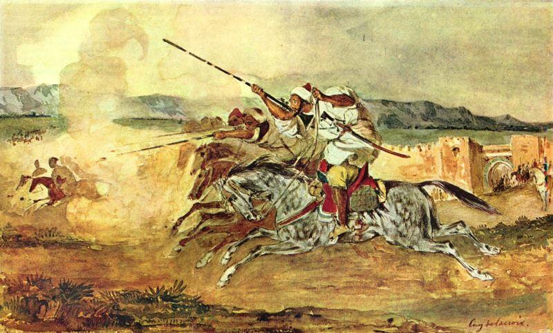 Delacroix au Maroc