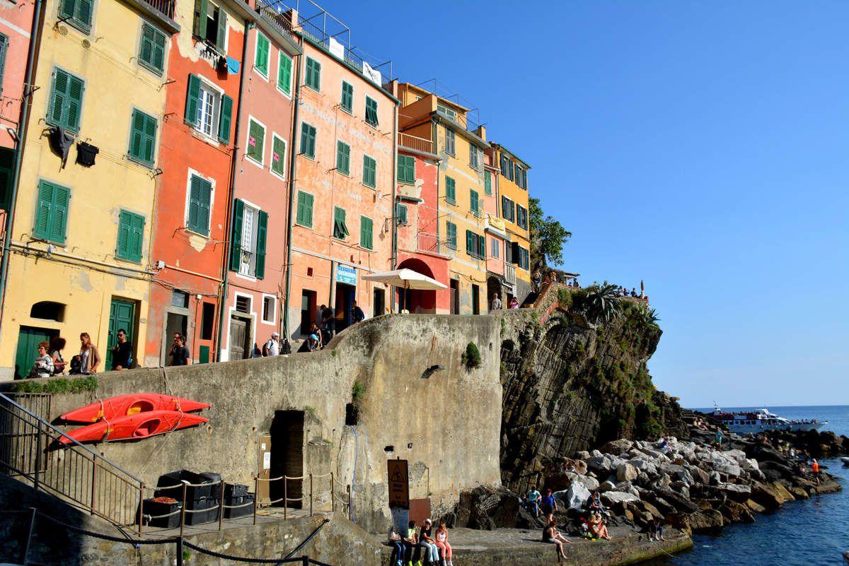 Italie - Cinque Terre - Photos: Lankaart (c)
