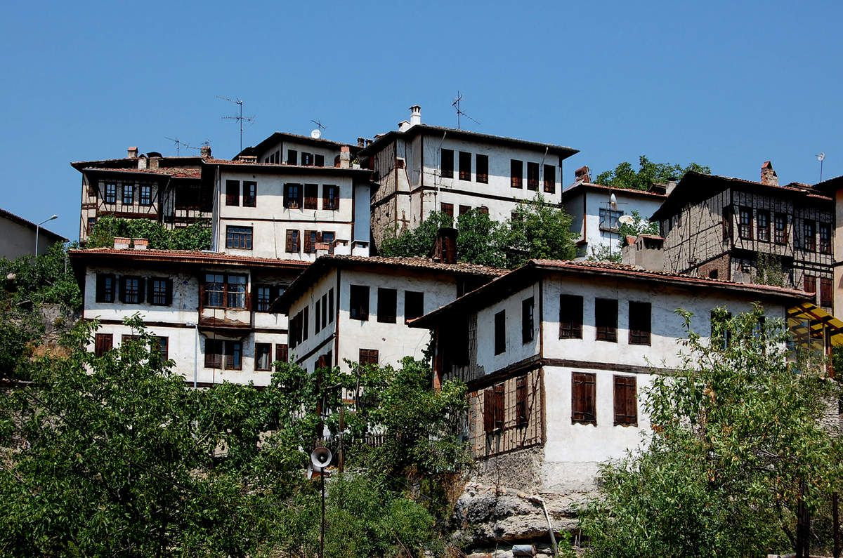 Turquie - Safranbolu en blanc et bois - Photos: Lankaart (c)